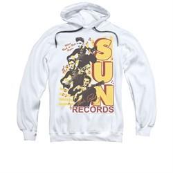 Elvis Presley Hoodie Sun Records Soundtrack White Sweatshirt Hoody
