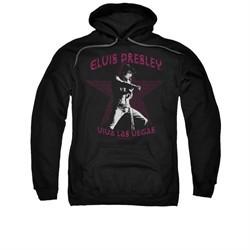 Elvis Presley Hoodie Viva Las Vegas Star Black Sweatshirt Hoody