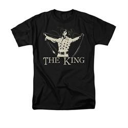 Elvis Presley Shirt Cape Black T-Shirt