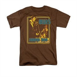 Elvis Presley Shirt Cryin All The Time Brown T-Shirt