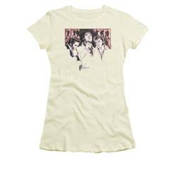 Elvis Presley Shirt Juniors In Concert Cream T-Shirt
