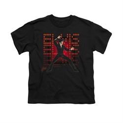 Elvis Presley Shirt Kids 69 Anime Black T-Shirt