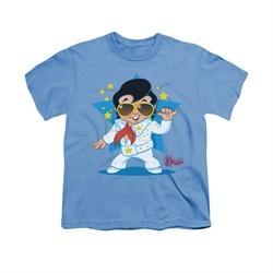 Elvis Presley Shirt Kids Jumpsuit Carolina Blue T-Shirt