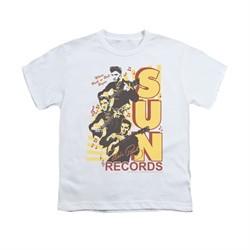 Elvis Presley Shirt Kids Sun Records Soundtrack White T-Shirt