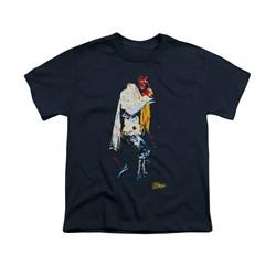 Elvis Presley Shirt Kids Yellow Scarf Navy T-Shirt
