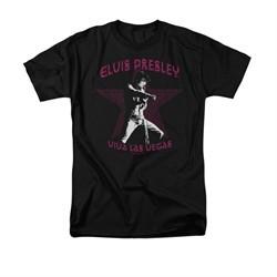 Elvis Presley Shirt Viva Las Vegas Star Black T-Shirt