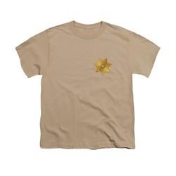 Eureka Shirt Kids Badge Sand T-Shirt