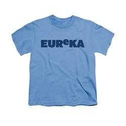 Eureka Shirt Kids Logo Carolina Blue T-Shirt