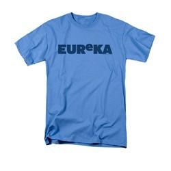 Eureka Shirt Logo Carolina Blue T-Shirt