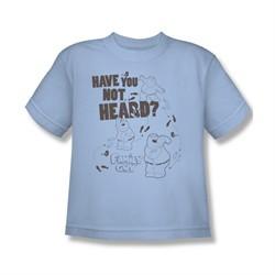 Family Guy Shirt Kids Not Heard Light Blue T-Shirt