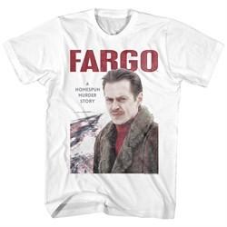 Fargo Shirt Murder Story White T-Shirt