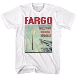 Fargo Shirt Small Town White T-Shirt