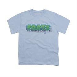 Farts Candy Shirt Kids Logo Light Blue T-Shirt