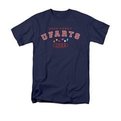 Farts Candy Shirt U Fart Navy T-Shirt