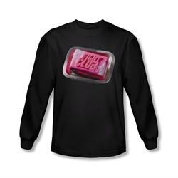 Fight Club Shirt Soap Long Sleeve Black Tee T-Shirt