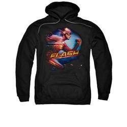 Flash Hoodie Fastest Man Black Sweatshirt Hoody