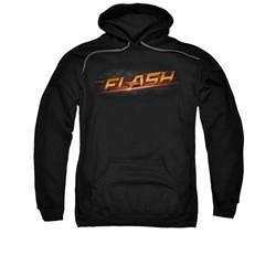 Flash Hoodie Logo Black Sweatshirt Hoody