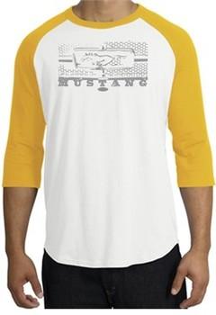 Ford Mustang Raglan T-Shirt