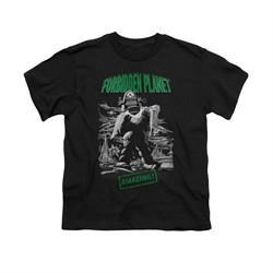 Forbidden Planet Shirt Kids Amazing Black T-Shirt