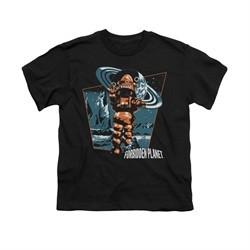 Forbidden Planet Shirt Kids Robby Black T-Shirt