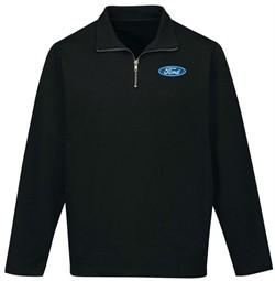 Ford Oval 1/4 Zip Premium Sweatshirt