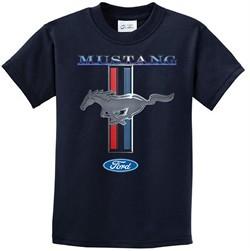 Ford Mustang Kids Shirt Mustang Stripe Tee T-Shirt