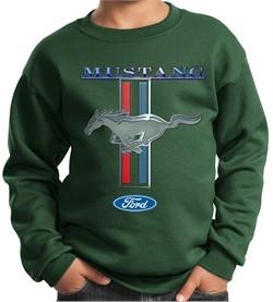 Ford Mustang Kids Sweatshirt Mustang Stripe Sweat Shirt
