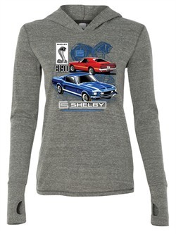 Ford Mustang Ladies Shirt GT 500 Ti Blend Hoodie Tee T-Shirt