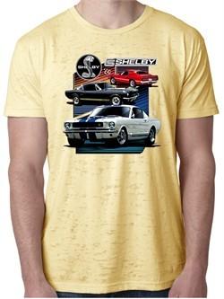Ford Mustang Shirt Various Shelby Mens Burnout Tee T-Shirt