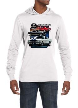 Ford Mustang Shirt Various Shelby Mens Lightweight Hoodie Tee T-Shirt