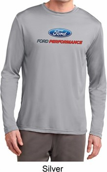 Ford Performance Parts Mens Dry Wicking Long Sleeve Shirt