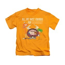 Foster's Home For Imaginary Friends Shirt Kids Imaginary Gold Youth Tee T-Shirt