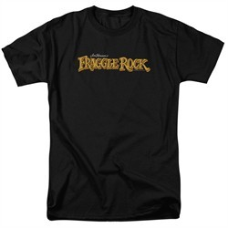 Fraggle Rock Shirt Logo Black T-Shirt