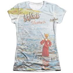 Genesis Shirt Foxtrot Cover Poly/Cotton Sublimation Juniors T-Shirt Front/Back Print