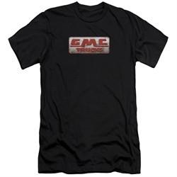GMC Slim Fit Shirt Beat Up 1959 Logo Black T-Shirt
