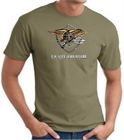 U.S. Navy Seals T-Shirts ? Devgru Adult Army Green