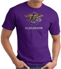 U.S. Navy Seals T-Shirts ? Devgru Adult Purple