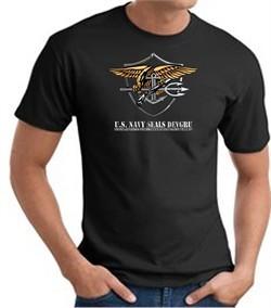 U.S. Navy Seals T-Shirts ? Devgru Adult Black