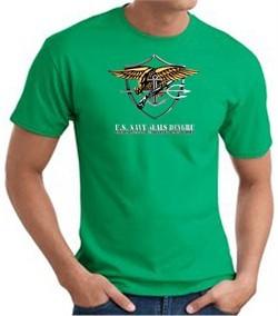 U.S. Navy Seals T-Shirts ? Devgru Adult Kelly Green