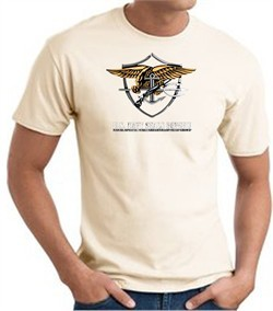 U.S. Navy Seals T-Shirts ? Devgru Adult Natural
