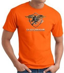 U.S. Navy Seals T-Shirts ? Devgru Adult Orange