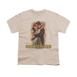 Gone With The Wind Shirt Kids Embrace Cream Youth Tee T-Shirt
