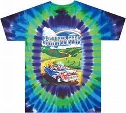 Grateful Dead Shirt Tie Dye Truckin to Buffalo Tee T-Shirt