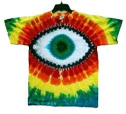 Green Eye Cyclops Tie-Dye T-Shirt