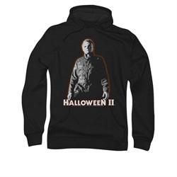 Halloween II Hoodie Sweatshirt Michael Myers Black Adult Hoody Sweat Shirt