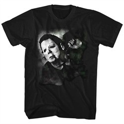 Halloween Shirt Michaels Mask Black T-Shirt