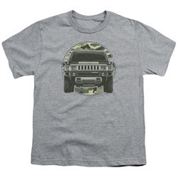 Hummer Kids Shirt Lead Or Follow Athletic Heather T-Shirt