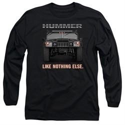 Hummer Long Sleeve Shirt Like Nothing Else Black Tee T-Shirt