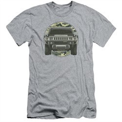 Hummer Slim Fit Shirt Lead Or Follow Athletic Heather T-Shirt