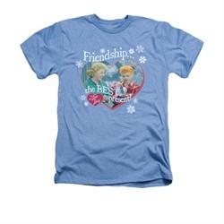 I Love Lucy Shirt The Best Present Adult Heather Light Blue Tee T-Shirt